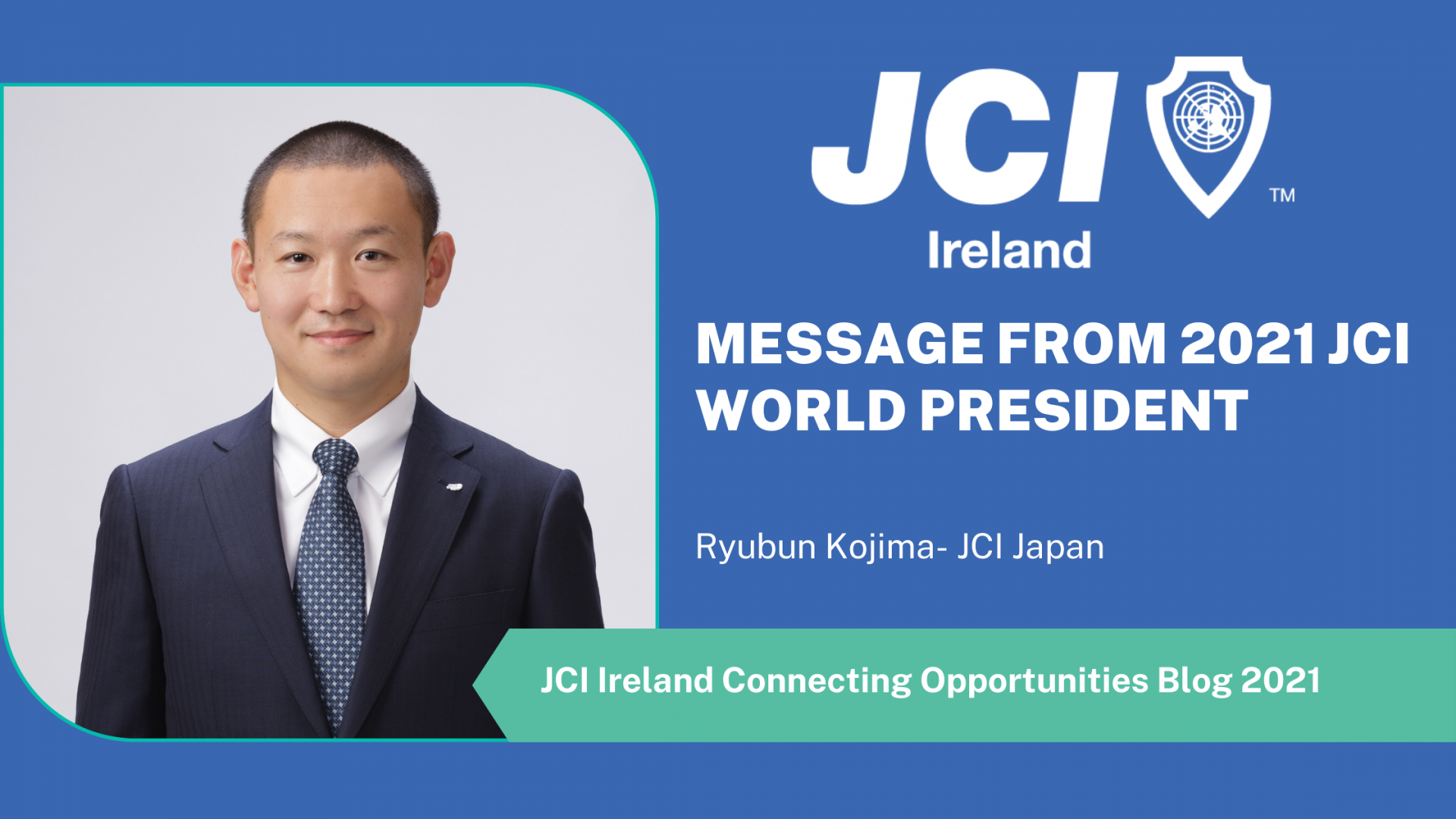 Message from 2021 JCI World President