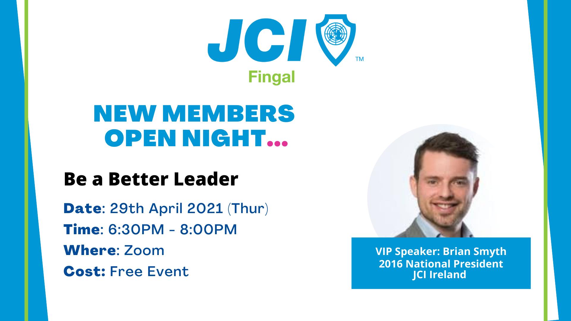 JCI Fingal New Members Open Night