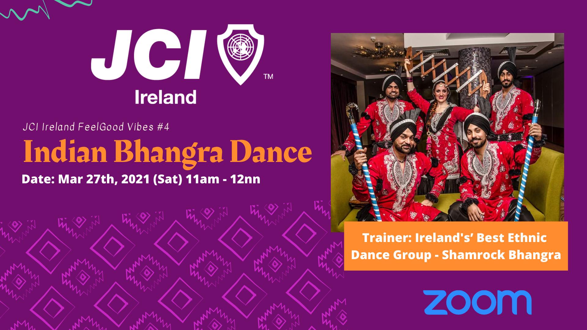 Indian Bhangra Dance Workshop