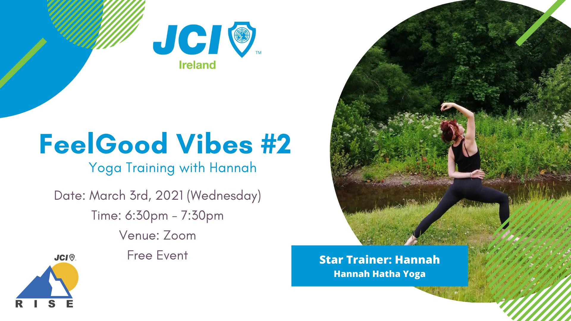 FeelGood Vibes #2 Yoga Training with Hannah