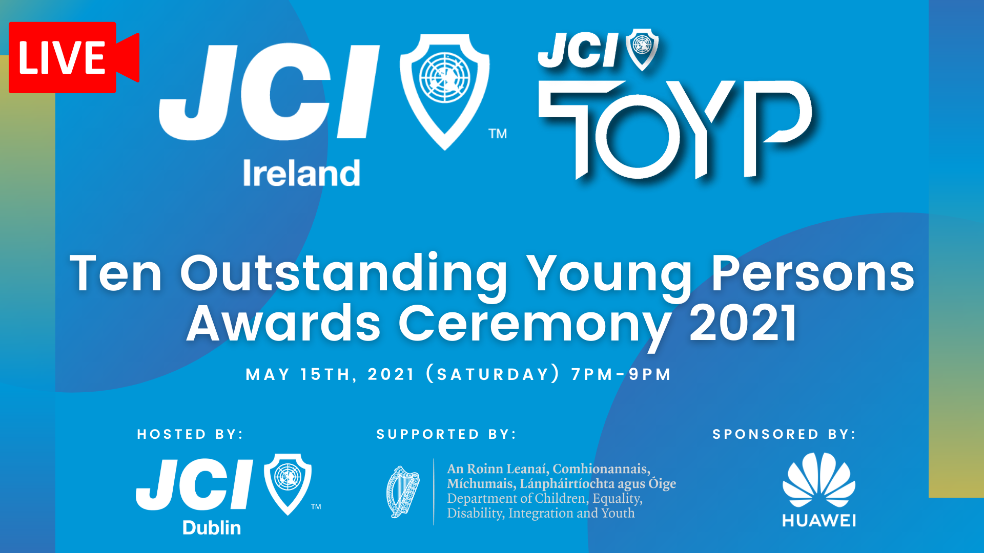 JCI Ireland Ten Outstanding Young Persons Awards Ceremony 2021