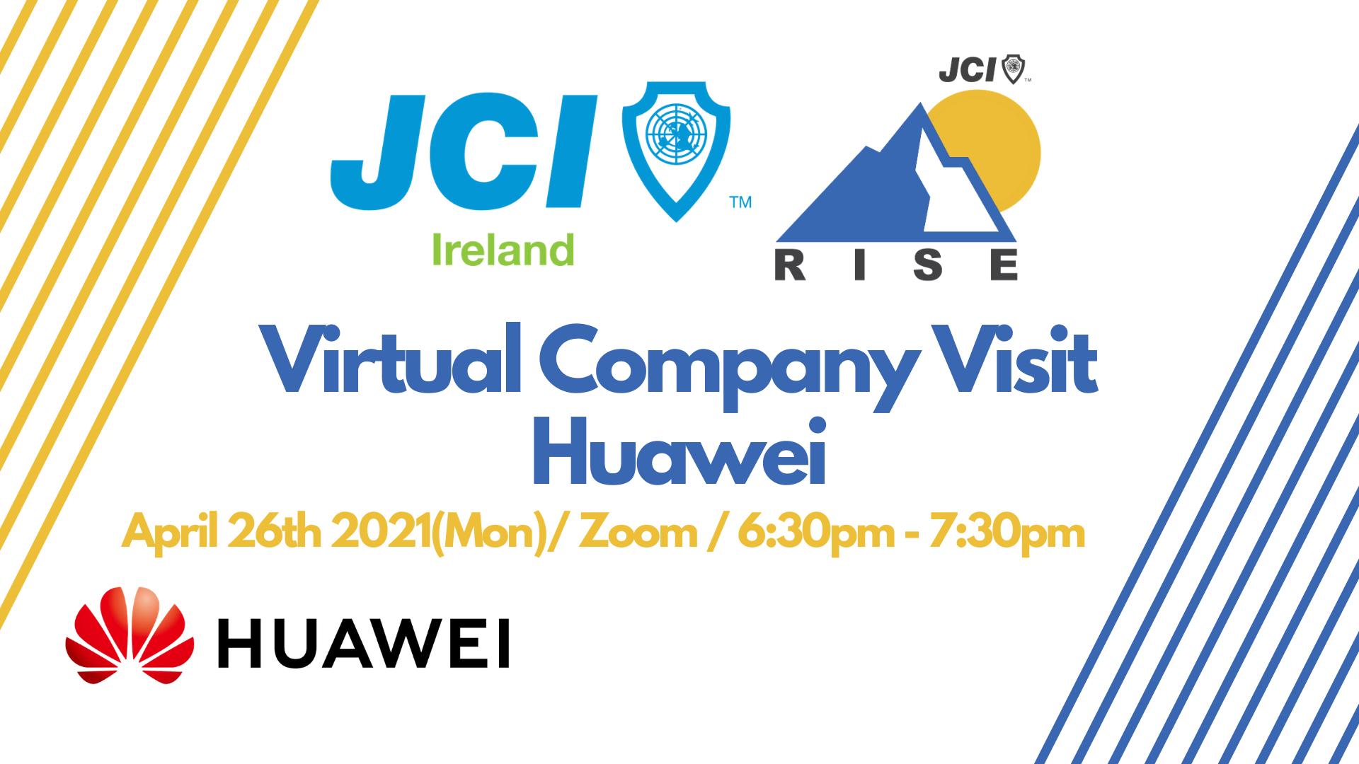 Virtual Company Visit - Huawei