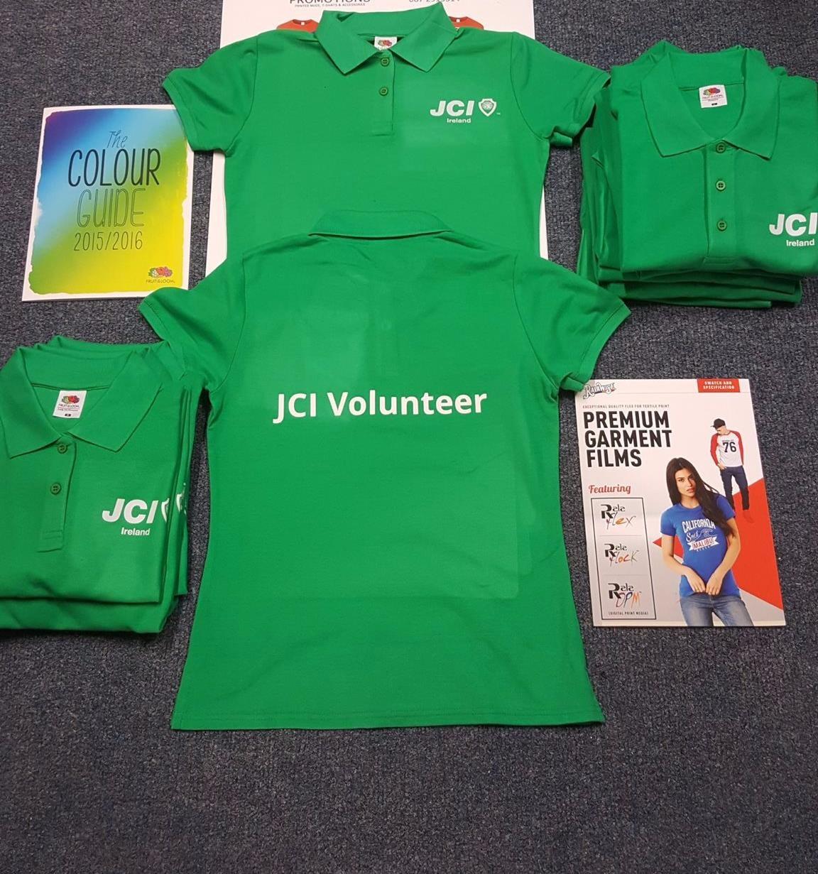 JCI Volunteer T-Shirts